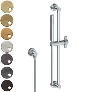 The Watermark Collection Urbane Slimline Slide Shower - Cooper Handle