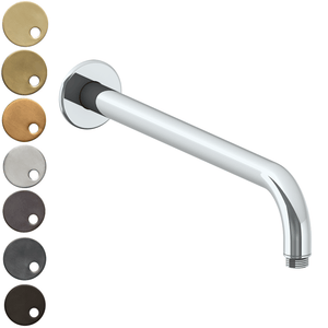 The Watermark Collection Titanium Wall Mounted Shower Arm 355mm