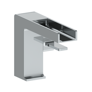 The Watermark Collection Edge Monoblock Basin Mixer with Waterfall Spout
