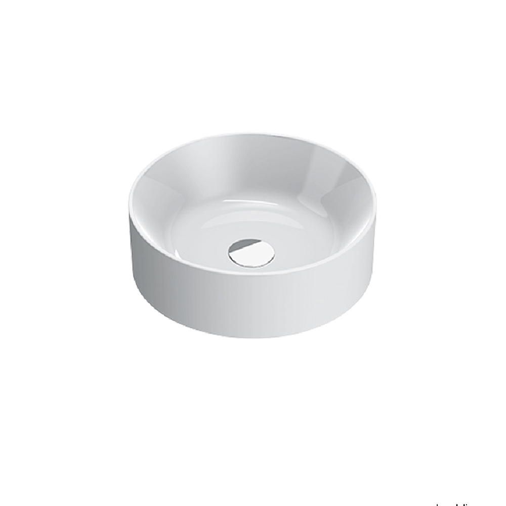 Catalano Zero 40 Round Vessel Basin - Gloss White