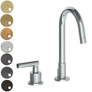 The Watermark Collection Sense 2 Hole Basin Set - Lever Handle