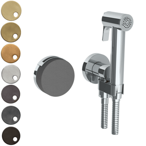 The Watermark Collection Elements Wall Mounted Bidet Spray Set with Mixer - Bridge Insert