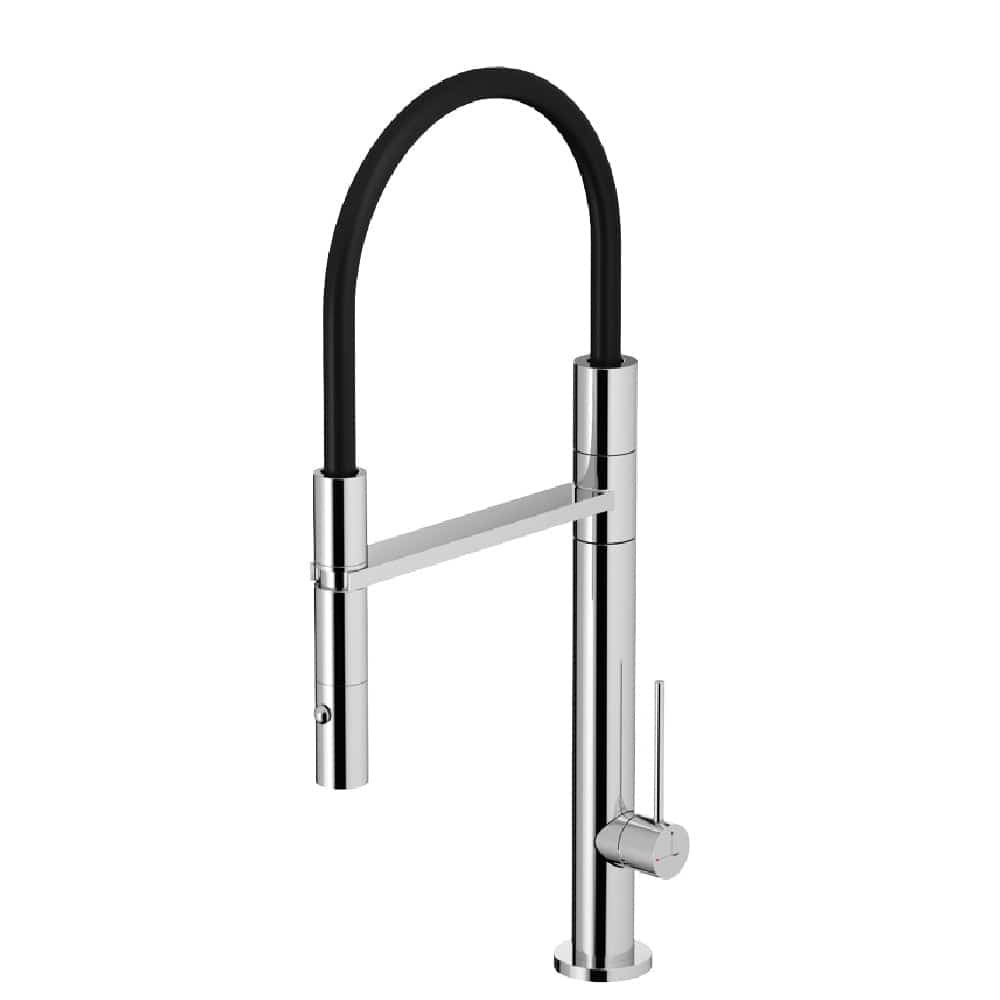 Fontealta Waterline Flexi Spout Kitchen Mixer | 316 Stainless Steel