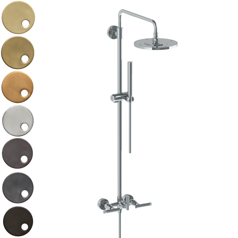 The Watermark Collection Urbane Exposed Deluge Shower & Hand Shower Set - Astor Handle