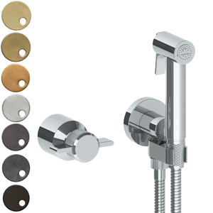 The Watermark Collection Urbane Wall Mounted Bidet Spray Set with Mixer - Cooper Handle