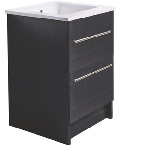 VCBC 600mm Laundry Cabinet with 2 Drawers | Melamine
