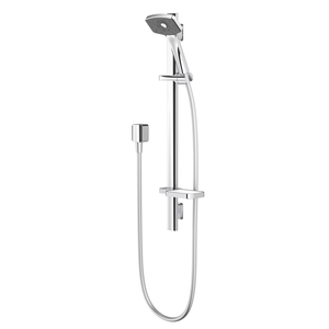 Methven Waipori Satinjet Slide Rail Shower | Chrome