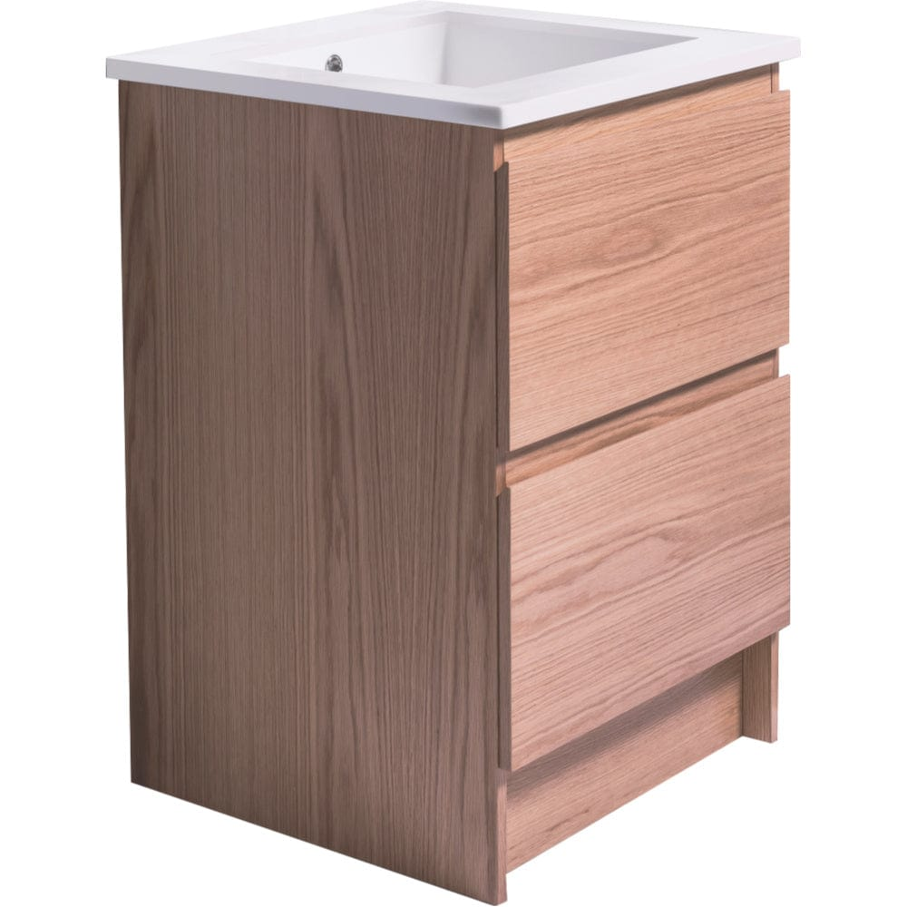 Bath & Co 600mm Laundry Cabinet – 2 Drawers, Timber Veneer