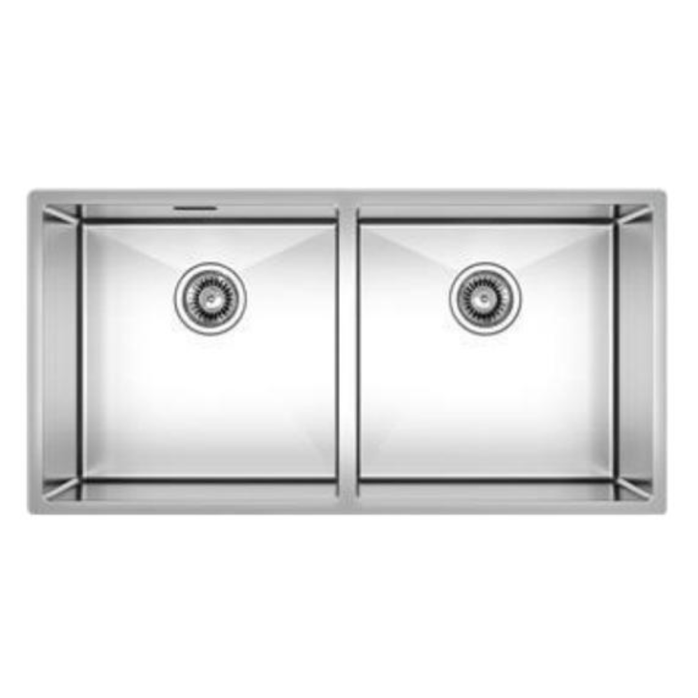 Burns & Ferrall Designer R10 Sink - 400 x 400mm + 400 x 400mm