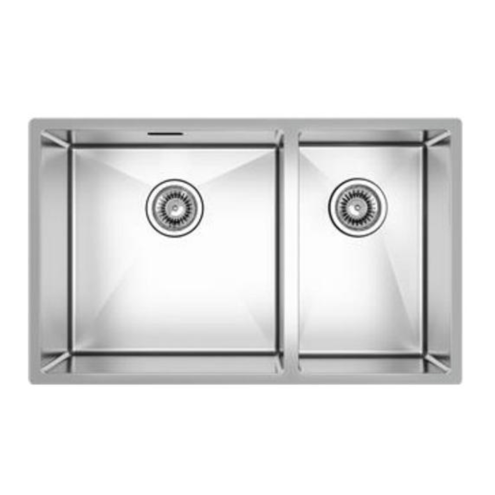 Burns & Ferrall Designer R10 Sink - 400 x 400mm + 250 x 400mm