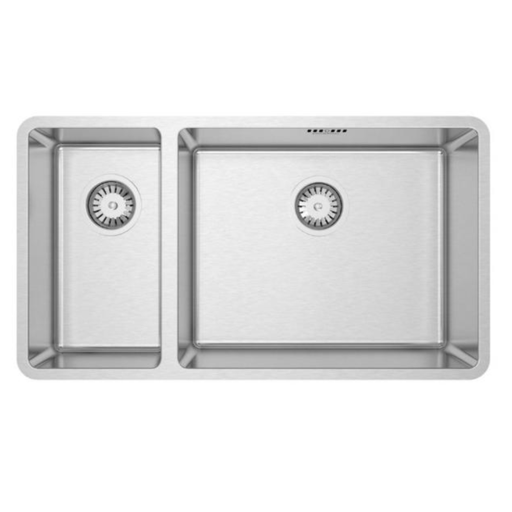 Burns & Ferrall Designer R15 Sink - 500 x 400mm + 225 x 400mm