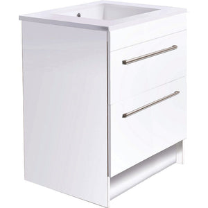 Bath & Co 750mm Laundry Cabinet – 2 Drawers, White