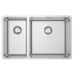 Burns & Ferrall Designer R15 Double Sink | 225 + 400mm