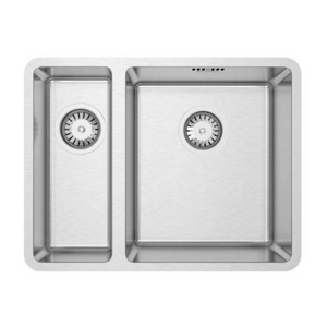 Burns & Ferrall Designer R15 Sink - 340 x 400mm + 160 x 400mm