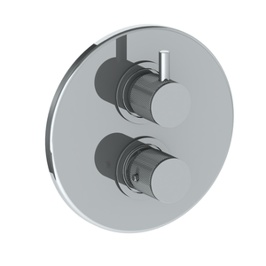 The Watermark Collection Titanium Thermostatic Shower Mixer with Diverter