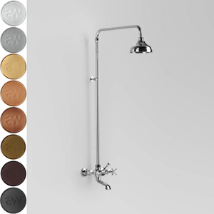 Astra Walker Olde English Exposed Bath/Shower Set with Mixers & Diverter