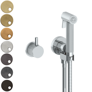 The Watermark Collection Titanium Wall Mounted Bidet Spray with Mixer