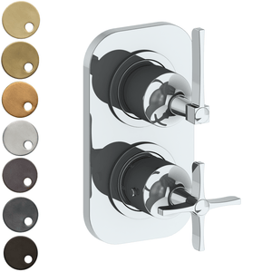The Watermark Collection Highline Mini Thermostatic Shower Mixer with Diverter - Lever Handle