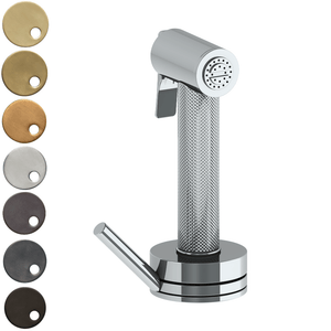 The Watermark Collection Titanium Independent Pull Out Rinse Spray with Integrated Mixer