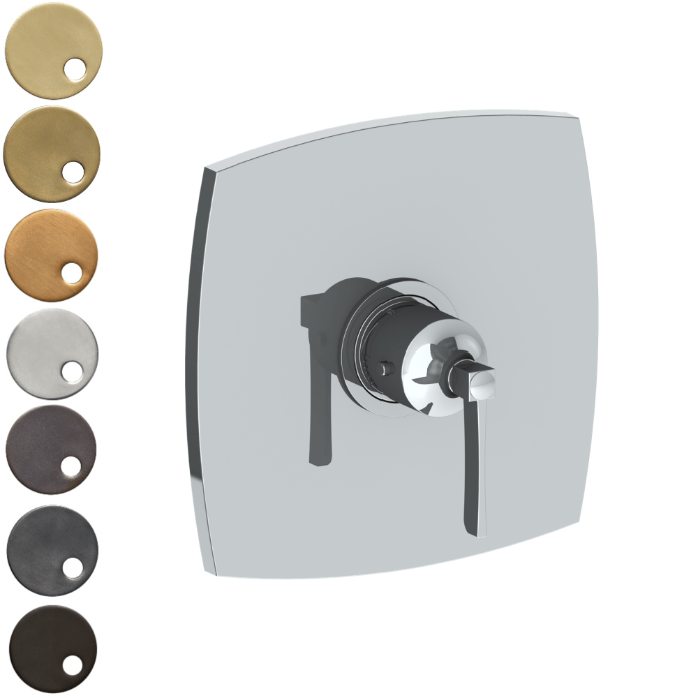 The Watermark Collection Highline Thermostatic Shower Mixer - Lever Handle