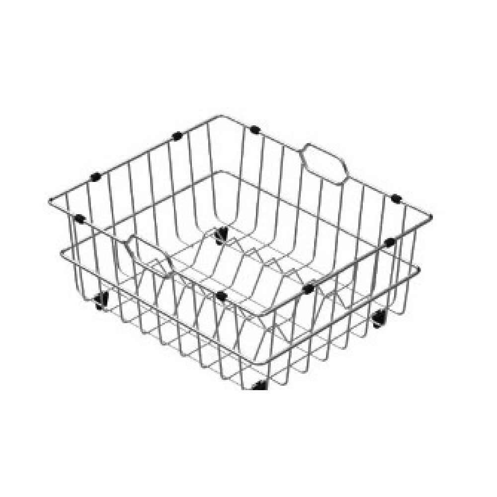 Burns & Ferrall Designer Stainless Steel Drainer Basket