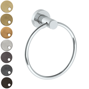 The Watermark Collection Titanium Hand Towel Ring