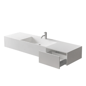 Axa 1400 Basin with 2 Drawers