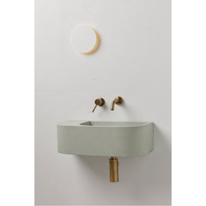 Concrete Nation Aura Wall Mounted Basin