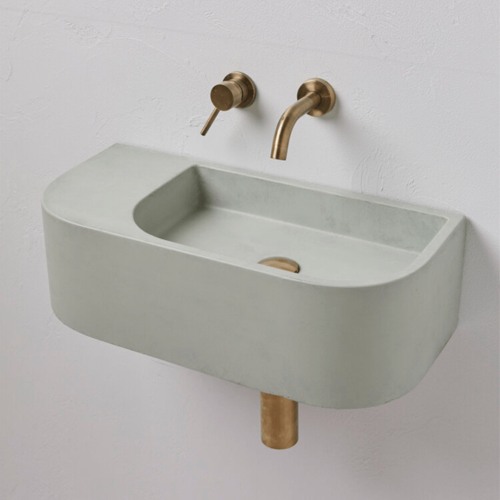 Concrete Nation Wall Mounted Basin - Aura Pod