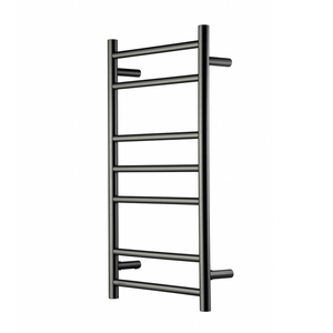 Heirloom Genesis 825 Slimline Heated Towel Ladder | Gunmetal