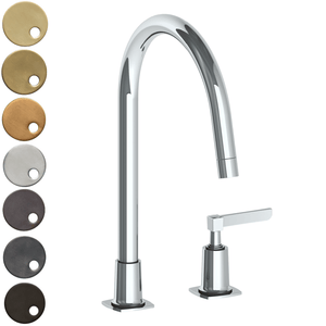 The Watermark Collection Highline 2 Hole Kitchen Set - Lever Handle