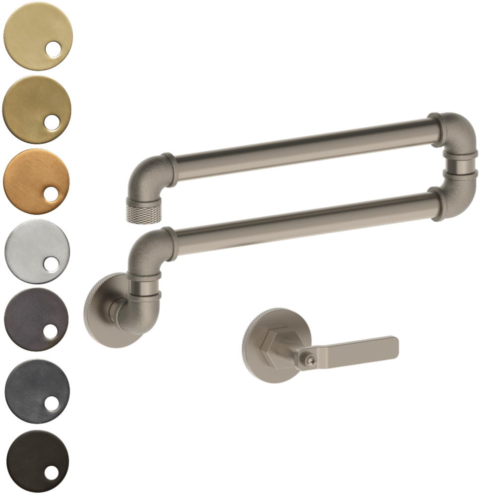 The Watermark Collection Elan Vital Wall Mounted Articulated Kitchen Spout & Mixer