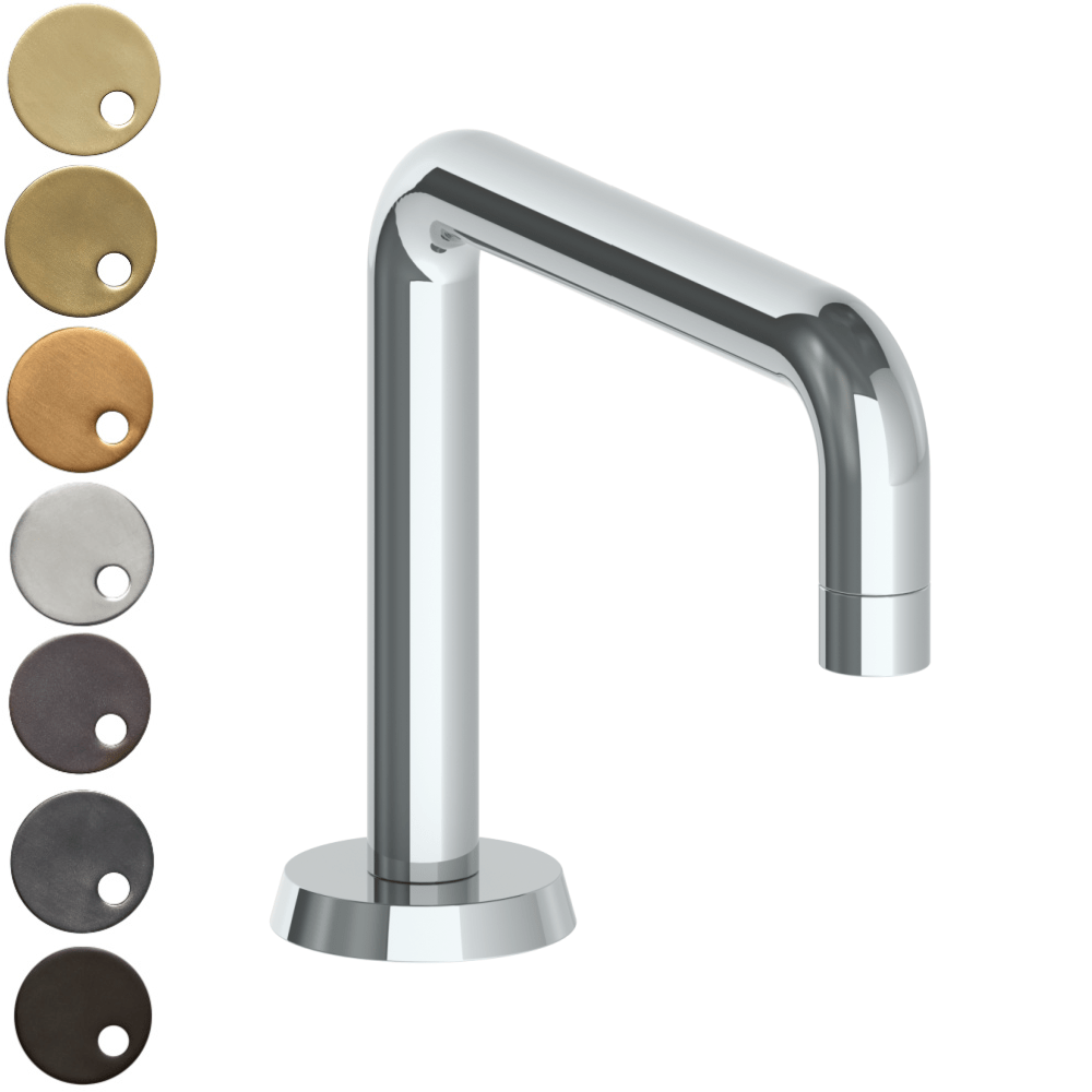 The Watermark Collection Zen Hob Mounted Square Bath Spout