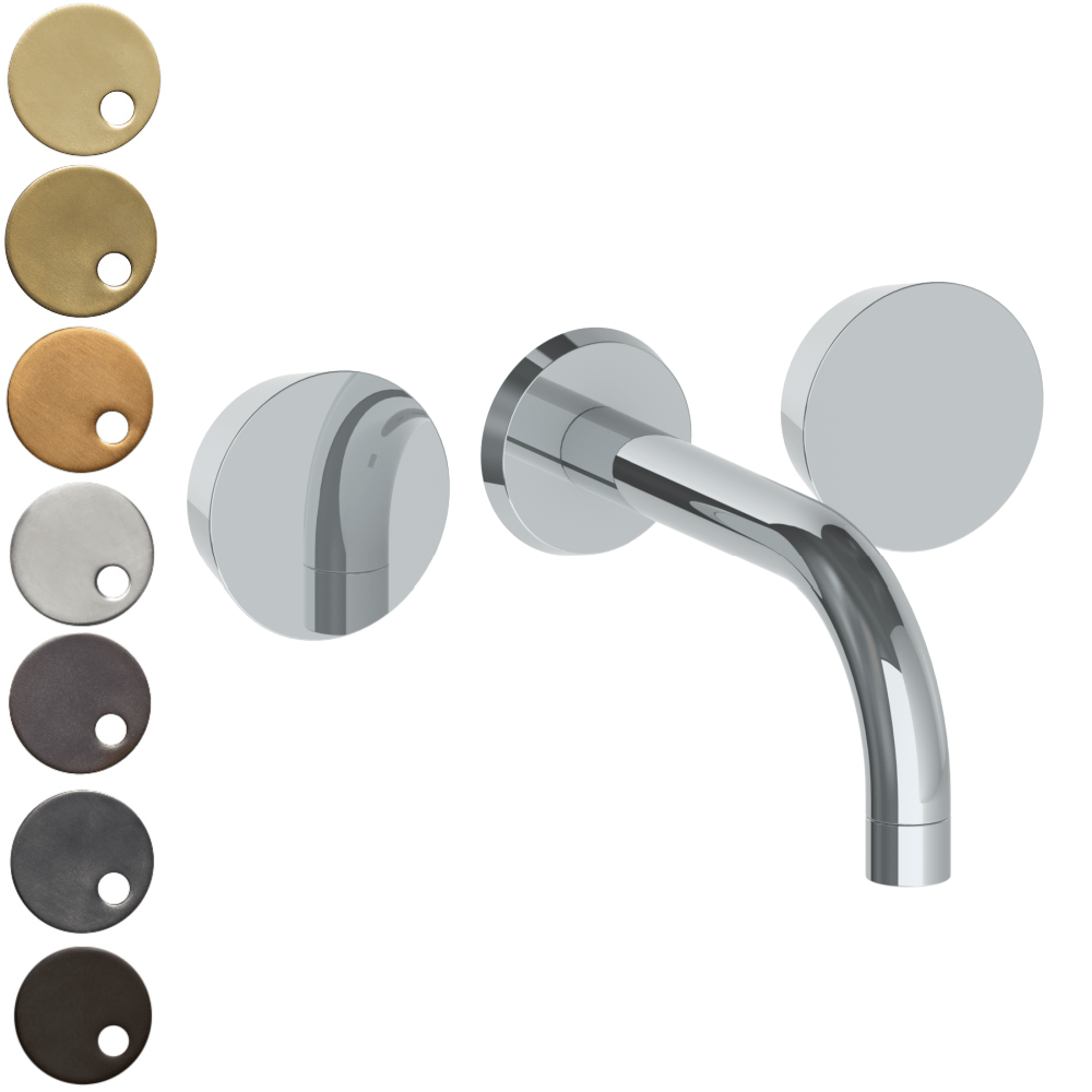 The Watermark Collection Zen Wall Mounted 3 Hole Bath Set