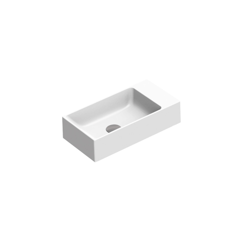 Zero 50 Slim Basin - Gloss White