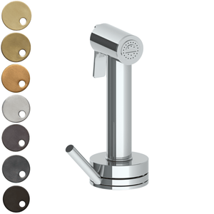The Watermark Collection Highline Independent Pull Out Rinse Spray with Integrated Mixer