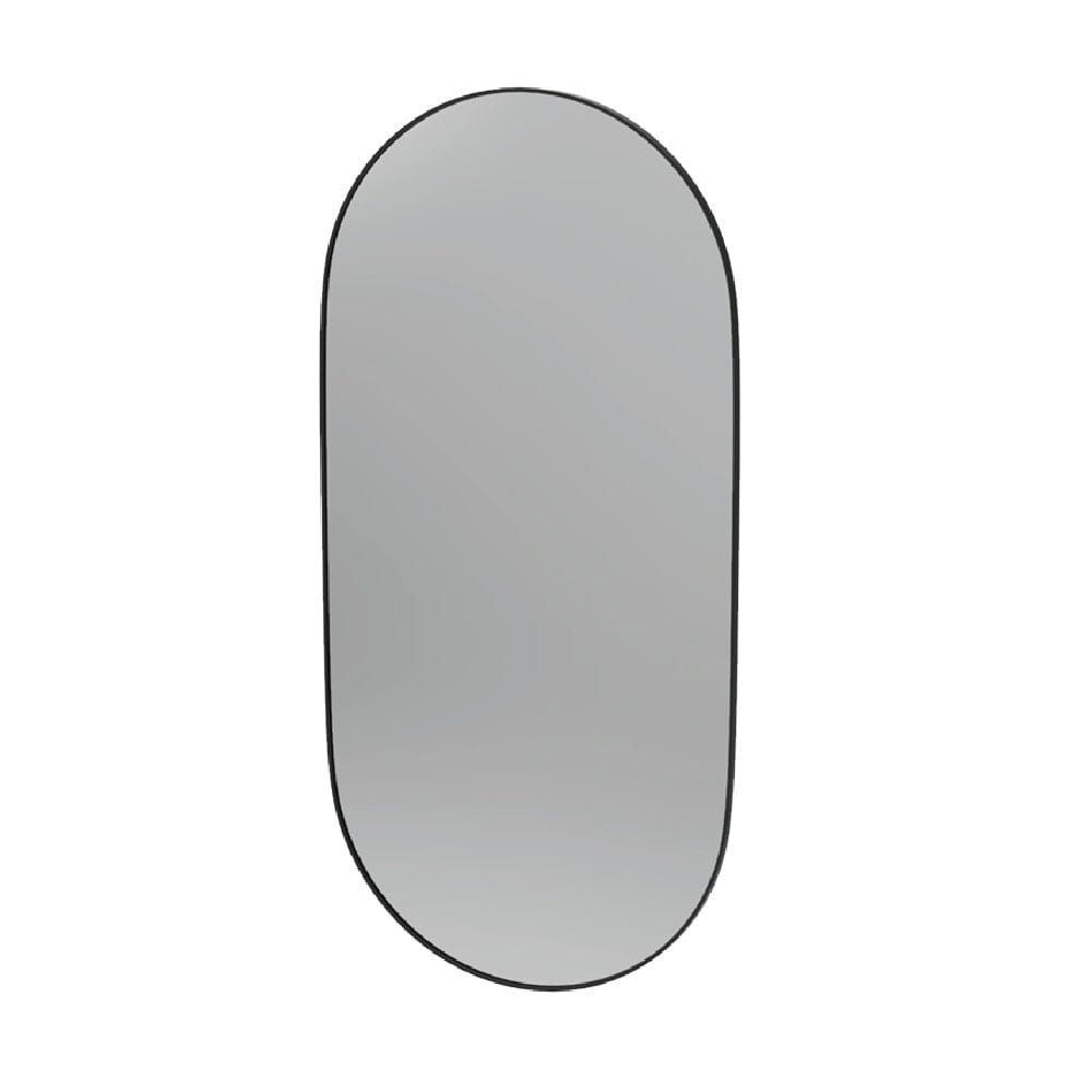 Frame Black 600 Pill Mirror