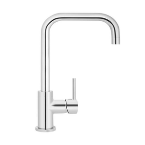 Meir Round Traditional Kitchen Mixer - Chrome