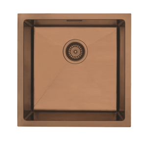 Mercer Aurora Series Sink 400 x 400mm - Copper