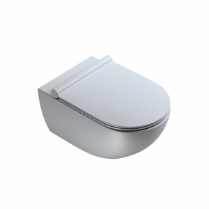 Sfera 54 Rimless Wall Hung Toilet - Matt Cement