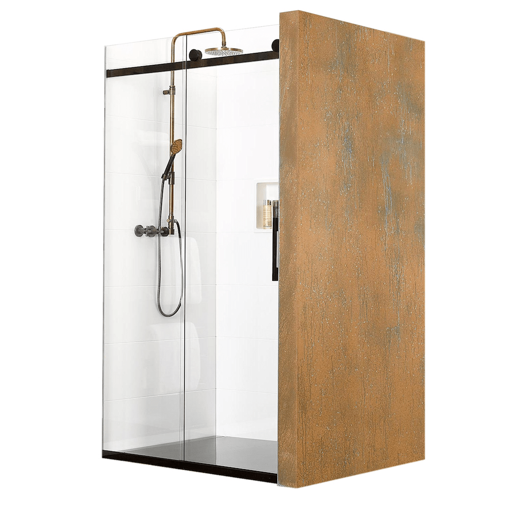 Atlantis Linea Quattro Budapest 3-Walled Shower - 1600 x 800mm