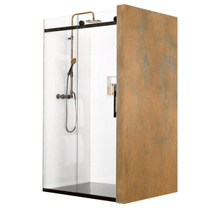 Atlantis Linea Quattro Amsterdam 3-Walled Shower - 1700 x 800mm