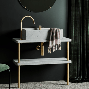 Wood Melbourne Wolff Concrete/Timber Vanity