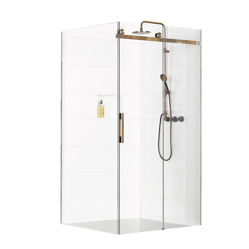 Atlantis Linea Quattro Vancouver 2-Walled Shower - 1400 x 1000mm