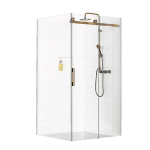Atlantis Linea Quattro Milan 2-Walled Shower - 1200 x 900mm
