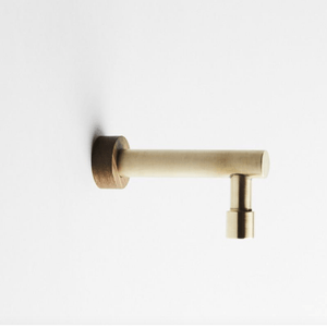 Wood Melbourne Jo Hannah Long Brass Spout