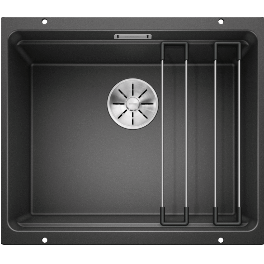 Blanco Silgranit Etagon 500-U Single Sink | Black