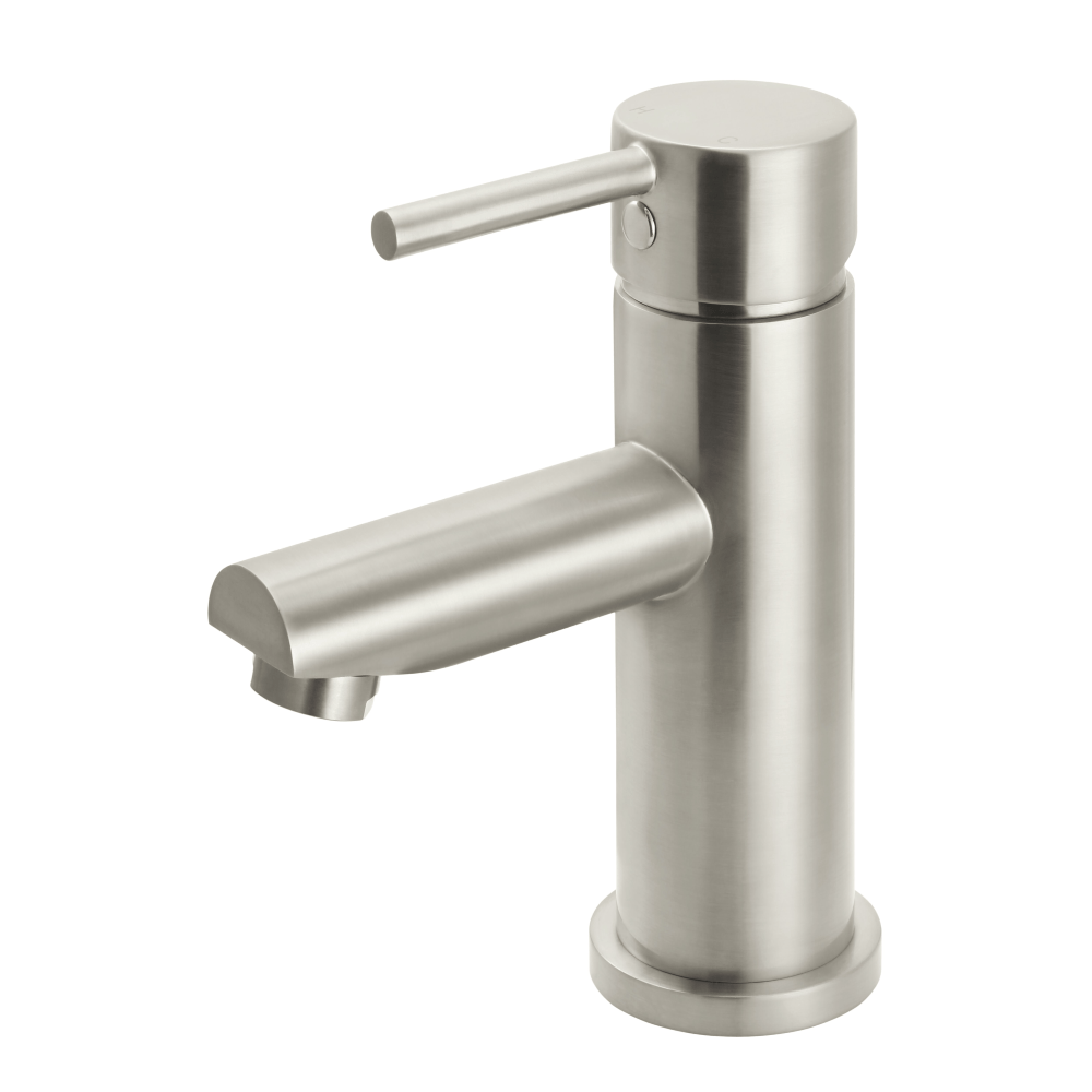 Meir Round Basin Mixer - Brushed Nickel