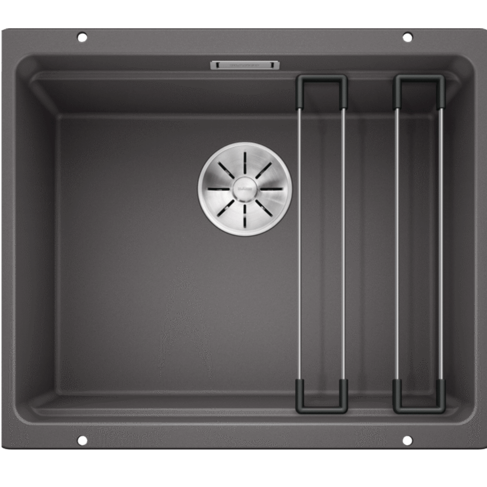 Blanco Silgranit Etagon 500-U Single Sink | Rock Grey