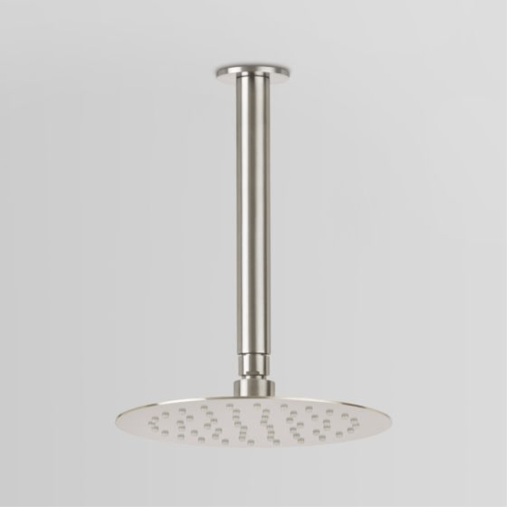 Astra Walker Icon Ceiling Mounted Shower with 200mm Rose | 316 Stainless Steel